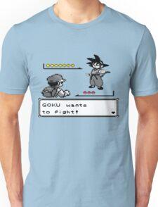 Crossover Pokemon - Dragonball Coloured balls Unisex T-Shirt