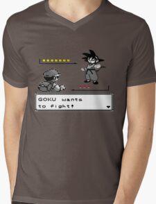 Crossover Pokemon - Dragonball Coloured balls Mens V-Neck T-Shirt
