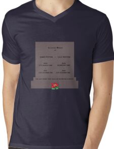 Lily and James Potter - May They Rest In Peace Mens V-Neck T-Shirt