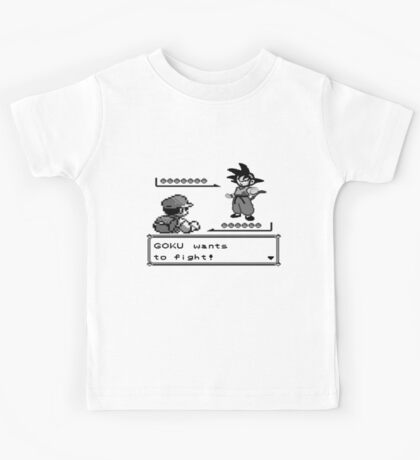 Crossover Pokemon - Dragonball Kids Tee