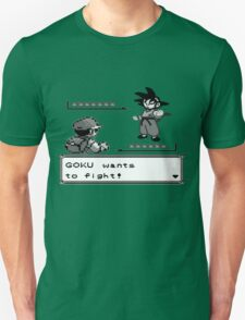 Crossover Pokemon - Dragonball T-Shirt