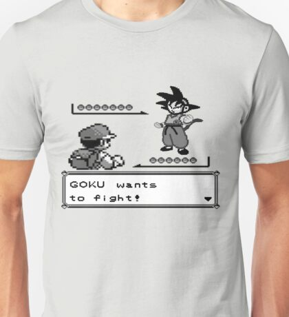 Crossover Pokemon - Dragonball Unisex T-Shirt