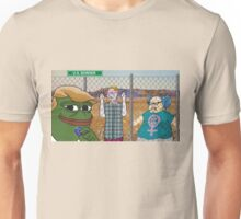 Trump Pepe - SJW Border Unisex T-Shirt