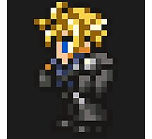 Lone Wolf Cloud sprite - FFRK - Final Fantasy VII (FF7) - Advent Children Photographic Print