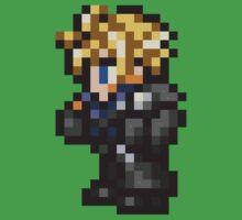 Lone Wolf Cloud sprite - FFRK - Final Fantasy VII (FF7) - Advent Children Baby Tee