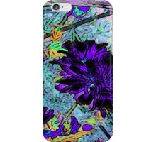 Floral #10b iPhone Case/Skin