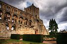 A Storm Brewing Over Jedburgh Abbey by Christine Smith