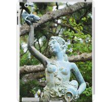 Columbia Gorge Hotel Fountain iPad Case/Skin