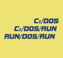 Run Dos Run Kids Tee