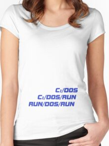 Run Dos Run Women's Fitted Scoop T-Shirt