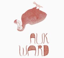 Awkward Orange Auk  by SusanSanford