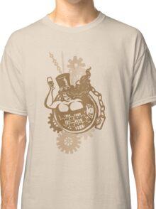 BBW - Buxom Steampunk Tart (sepia version) Classic T-Shirt
