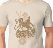 BBW - Buxom Steampunk Tart (sepia version) Unisex T-Shirt