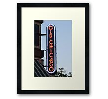 Not The City, Just A Restaurant Framed Print