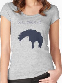 Allons-y, Alonso! Women's Fitted Scoop T-Shirt