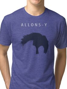 Allons-y, Alonso! Tri-blend T-Shirt