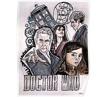 The Doctor and Clara Poster