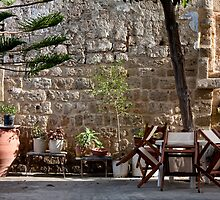 Rhodes, Old Town Patio by phil decocco