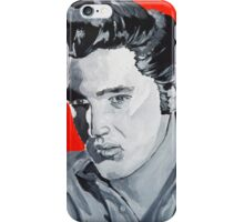 Elvis Presley Acrylic on Canvas iPhone Case/Skin