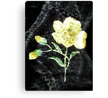 Ghost Flower 6 Canvas Print