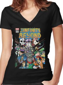Toy Gauntlet Women's Fitted V-Neck T-Shirt