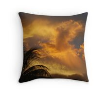 Stormy Sunset 2 Throw Pillow