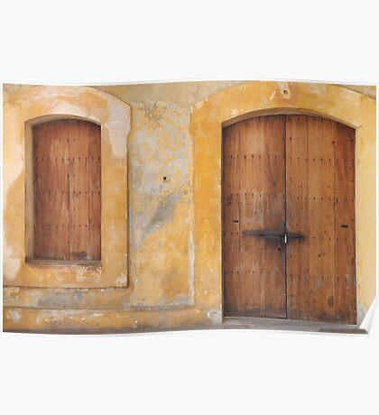 The Doors of San Juan Poster