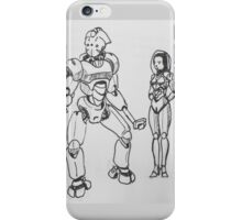 A perplexing future.  iPhone Case/Skin