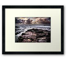 Plantation Sunrise Framed Print