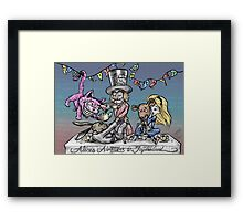 Mad Jiu Jitsu Tea Party Framed Print