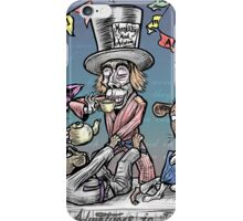 Mad Jiu Jitsu Tea Party iPhone Case/Skin
