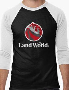 Land World Men's Baseball ¾ T-Shirt