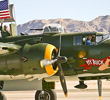 Co-Pilot and Passenger of the B-25 Mitchell -My Buck by Henry Plumley