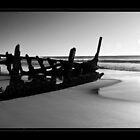 The remains of the SS Dicky by Robin Reidy