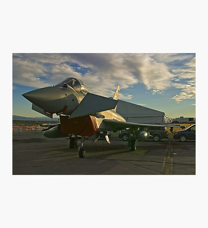 Front Shot of a British Typhoon Photographic Print