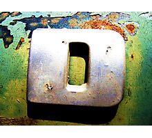 D Photographic Print