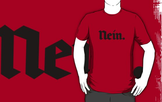 Nein. (black text) by Nikola Kantar