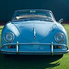 Vintage Porsche Speedster by Jill Reger
