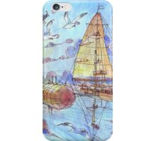 """""""Viaggiando nel Sole"""" iPhone Case/Skin"""