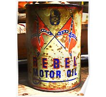DIXIE Oil Can Poster
