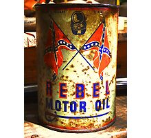 DIXIE Oil Can Photographic Print