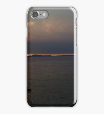 Whidbey Island Sunset iPhone Case/Skin