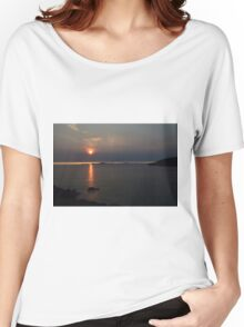 Whidbey Island Sunset Women's Relaxed Fit T-Shirt