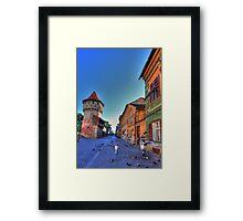 City tower Framed Print