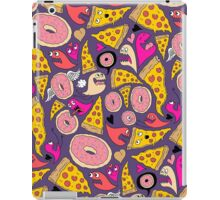 Pizza Donut Monsters iPad Case/Skin