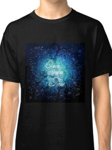 Once Upon A Time ~ Winter Snow Forest Classic T-Shirt