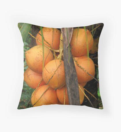 Cocorange Throw Pillow