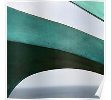 Green Curves, Bondi Sculpture by the Sea Poster