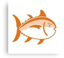 Tennessee Tri-Star Fish Canvas Print