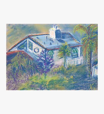 California Cottage (pastel) Photographic Print